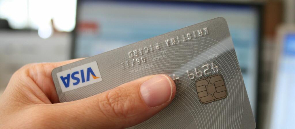 <b>Ekstra sikkert på nett?</b> Visa hevder at kunden er sikret uansett. Foto: Kristina Picard