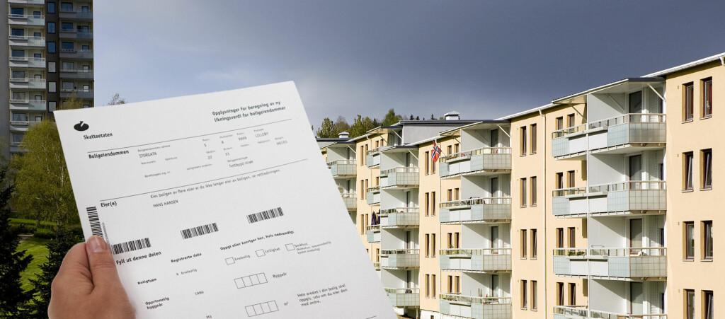Mange nordmenn kan ha fått feil ligningstakst på boligen sin. Foto: PER ERVLAND