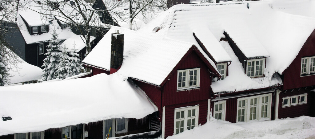 Kalde desember la en demper på boligprisene. Foto: COLOURBOX.COM
