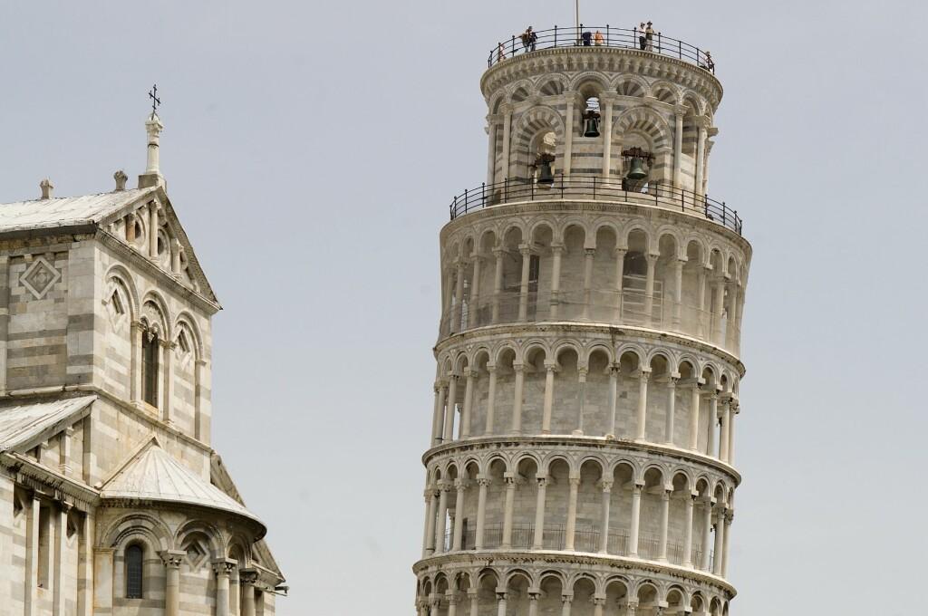 TÅRNET I PISA: Ikke så skjevt som det en gang var. Foto: Colourbox