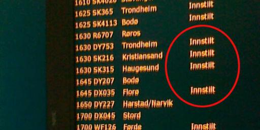 image: Dette har du krav på hvis flyet innstilles