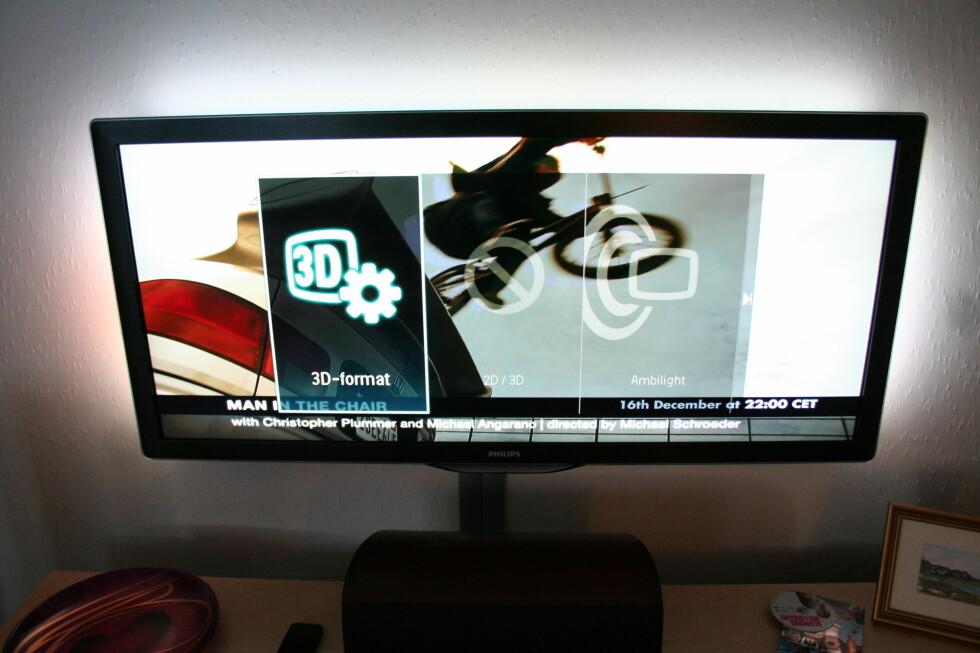 Nye 21:9 har innebygget 3D-sender Foto: Øyvind Paulsen