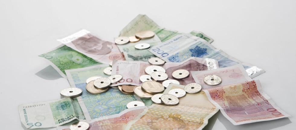 Spiller ingen rolle hvor mye: Gir du bort penger til jul, får mottakeren garantert noe han/hun har lyst på. Foto: Colourbox.com