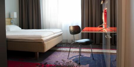 Bo på hotell i Oslo for ni kr natten