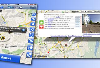 Radarvarsel for mobilbrukere