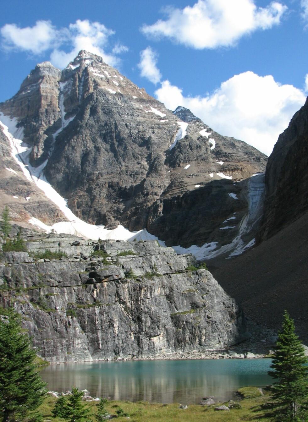Canadian Rockies er kjent for sin gnistrende natur. Foto: Wikipedia Commons
