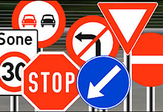 Kan du trafikkskiltene?