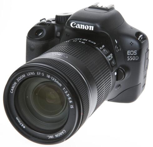Canon EOS 550D Foto: Per Ervland