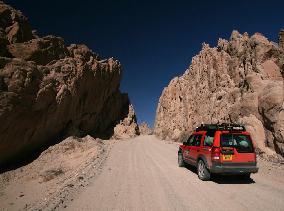 Fantastiske fjellformasjoner i gamle vulkanområder. Dette er minner for livet.  Foto: Fred Magne Skillebæk
