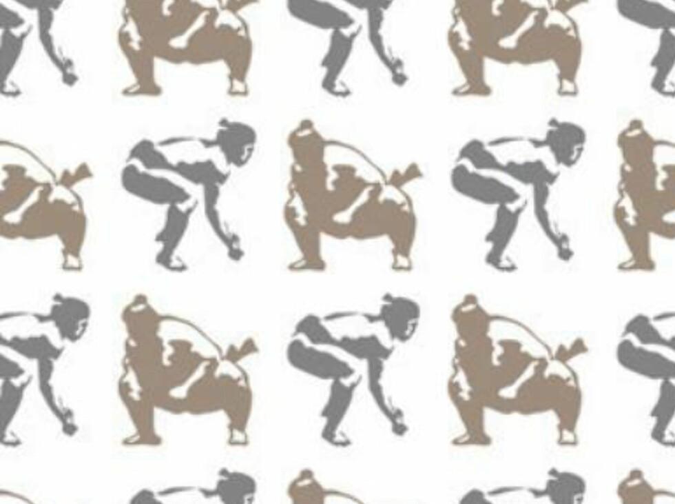 Er du glad i sumobrytere? Da er kanskje dette noe for deg. Fås kjøpt på wallpapercollective.com. Foto: Produsent