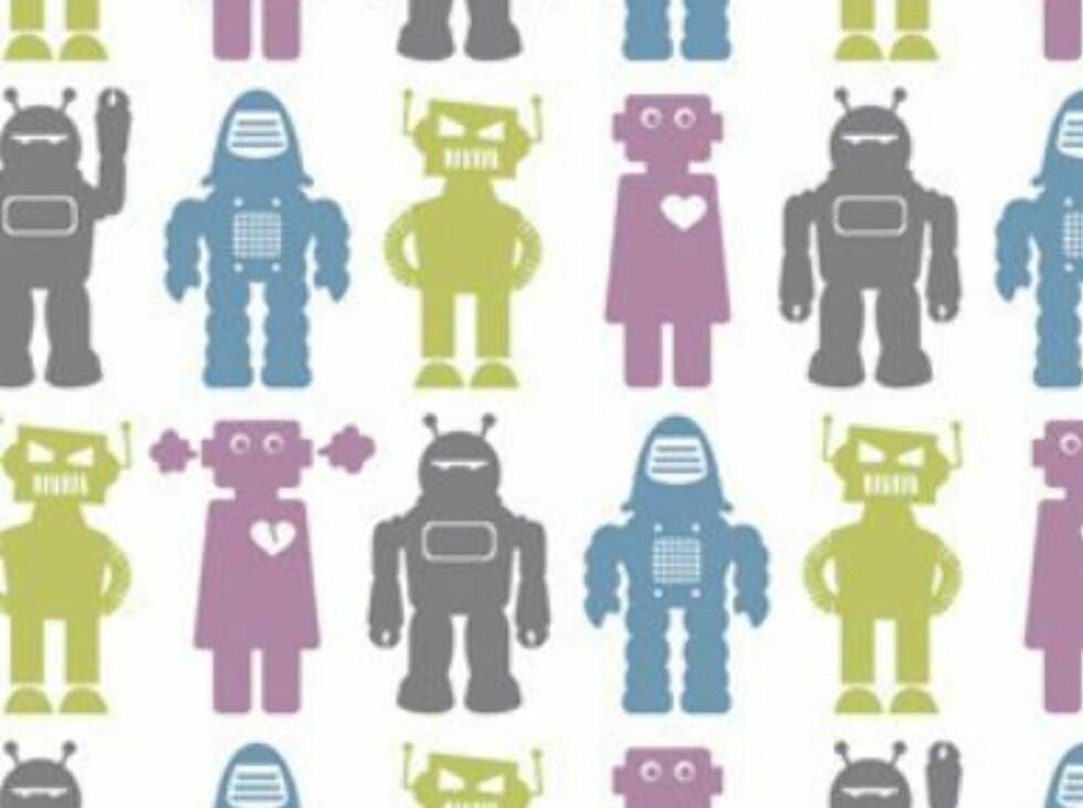Søte roboter fra wallpapercollective.com. Foto: Produsenten