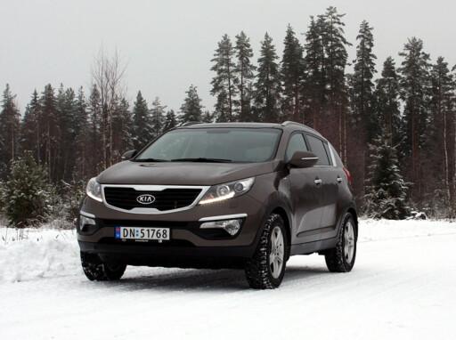 Kia Sportage, ny, tøff og prisgunstig folke-SUV produsert i Europa. (KLIKK BILDET FOR Å LESE TESTEN) Foto: Knut Moberg