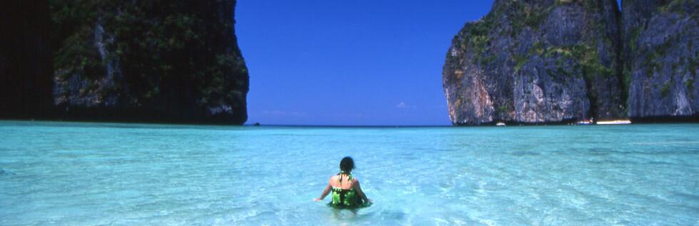 Fra maya Bay på Koh Phi Phi Leh. Foto: Tourism Authority of Thailand/www.tat.org