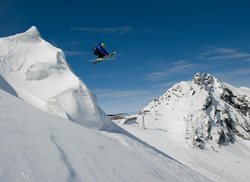 Lars hopper ikke over Sölden neste år, selv om det kan se slik ut…  Foto: Hans Kristian Krogh-Hanssen
