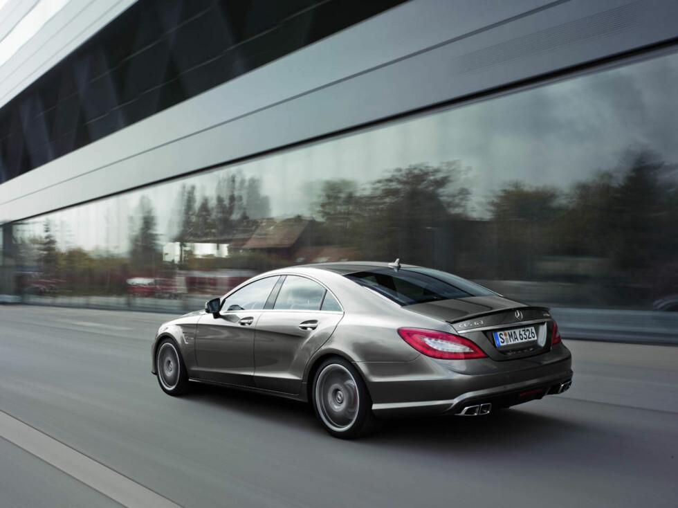 CLS 63 AMG (C218) 2010 Foto: Mercedes-Benz