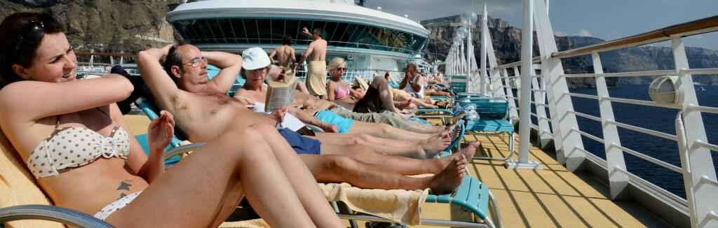 Cruiseferie har blitt mer populært - delvis på grunn av fallende priser. Foto: Hans Kristian Krogh-Hanssen