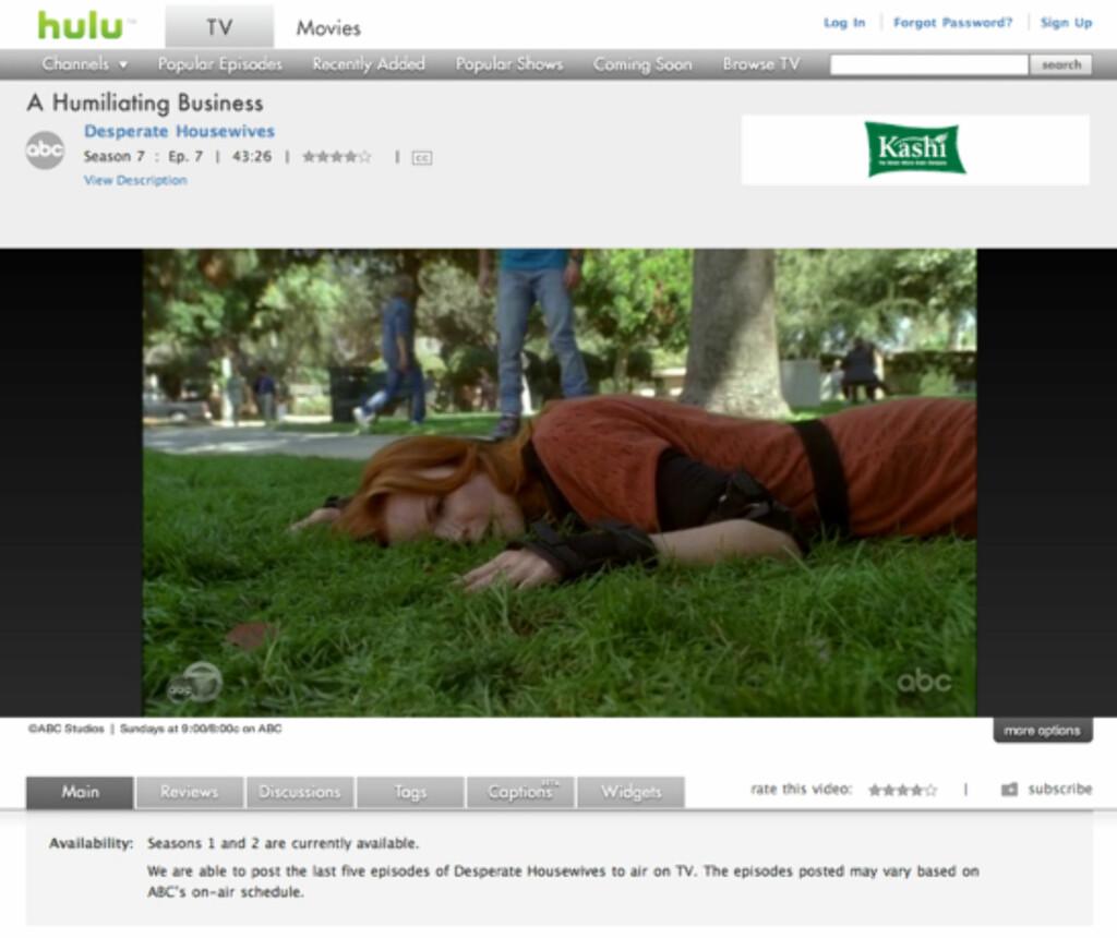 Hulu.com gir deg de siste TV-serie-episodene helt gratis om du er amerikaner. Eller om du bruker en amerikansk VPN-server.
