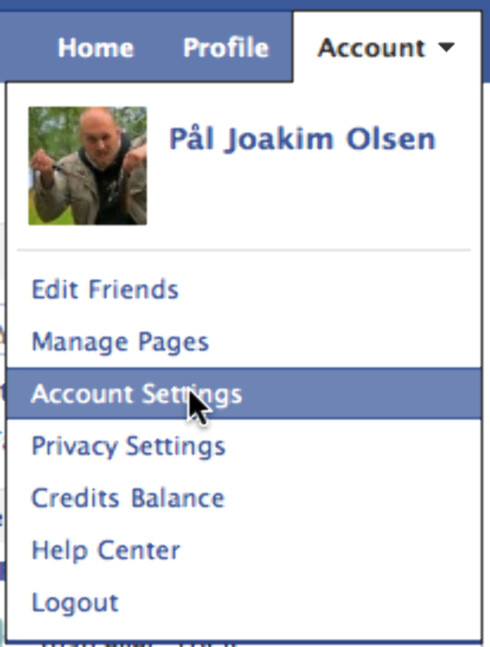 Last ned hele Facebook-profilen din