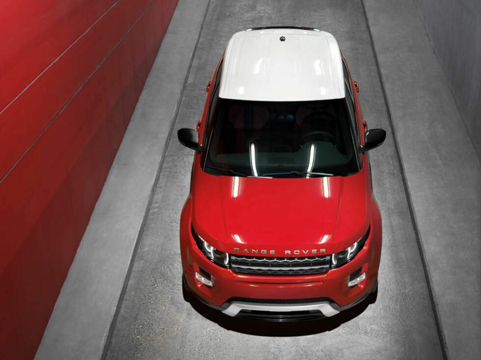 Tøfft oppsyn, ubenektelig... Foto: Range Rover