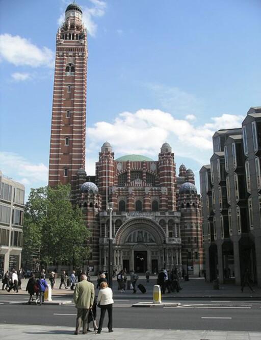 Westminster Cathedrals klokketårn er fortsatt åpent for alle. Foto: Wikimedia
