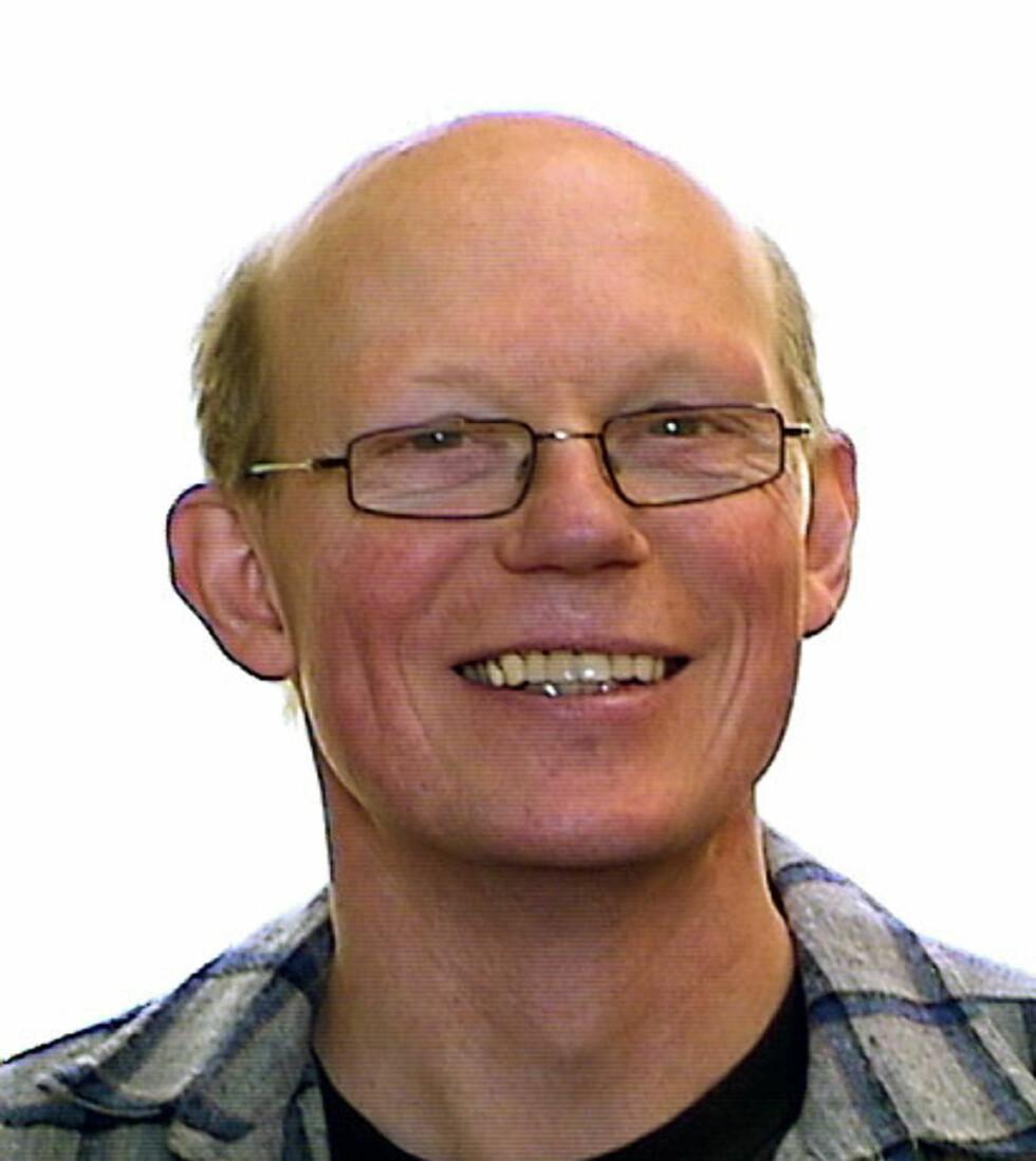 Anders Kirkhus er seniorrådgiver i Sintef. Foto: Sintef