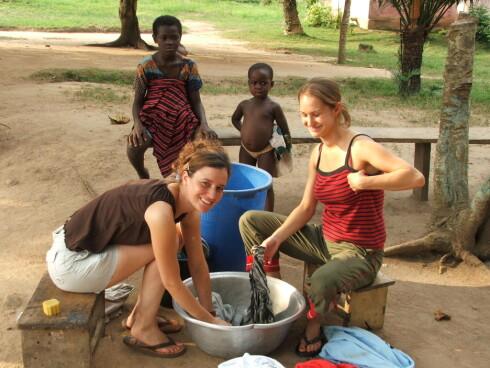 Fra et av barnehjemsprosjektene i Ghana. Foto: x-plore