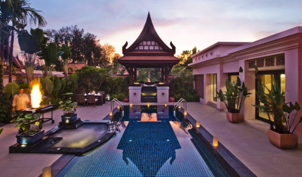 Fra en av de mer luksuriøse villaene. Foto: Banyan Tree Phuket