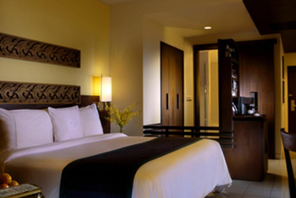 Slik ser et av standardrommene ut. Foto: Sheraton Krabi Beach Resort