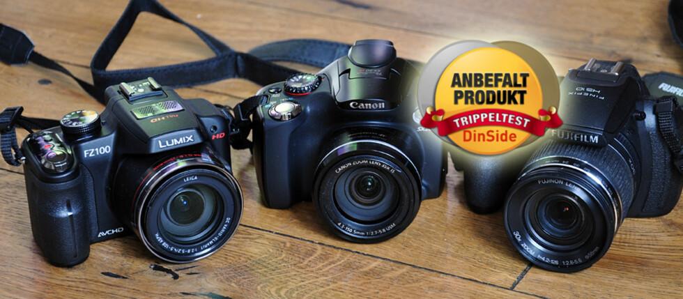Panasonic Lumix DMC-FZ100, Canon PowerShot SX30 IS og Fujifilm FinePix HS10 ble stemt frem av leserne, og vi har kåret vår favoritt.