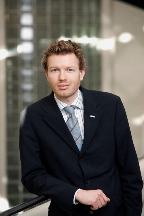 Thomas Sevang, informasjonssjef i Nordea Foto: Nordea