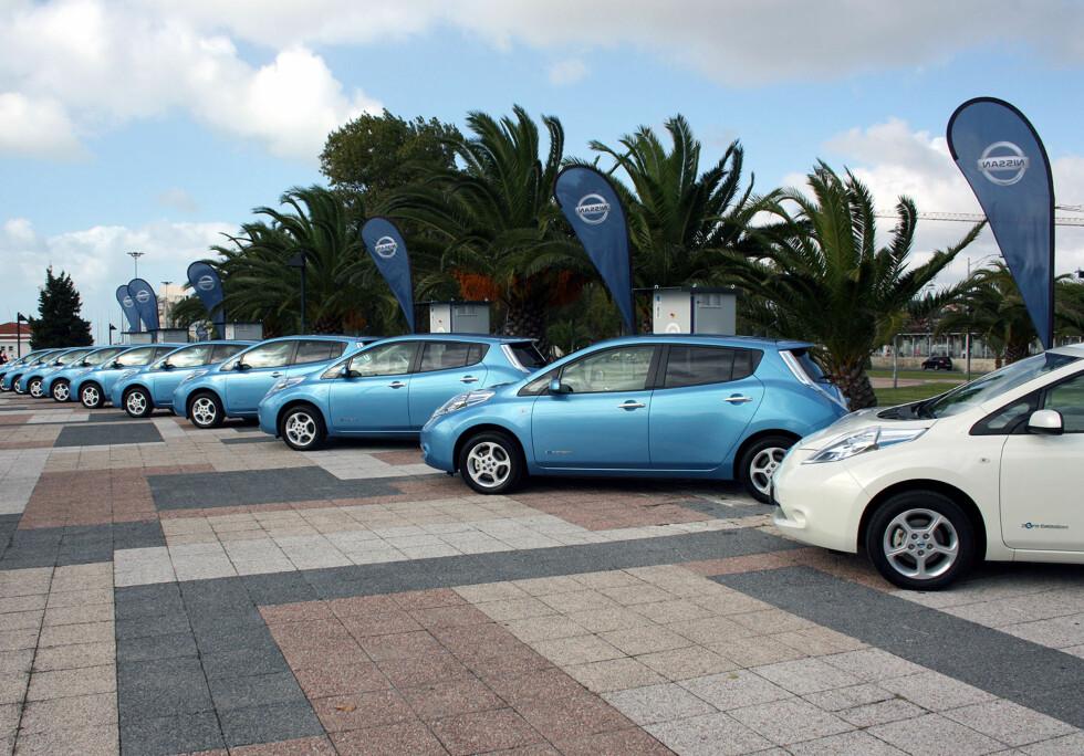 Fra den internasjonale lanseringen i Lisboa høsten 2010. Foto: Knut Moberg