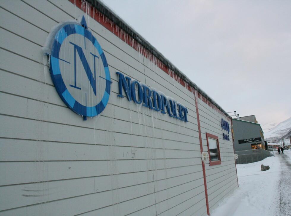 Nordpolet er det lokale polutsalget. Du finner det i Svalbardbutikken, inne på Coop. Foto: Kristin Sørdal