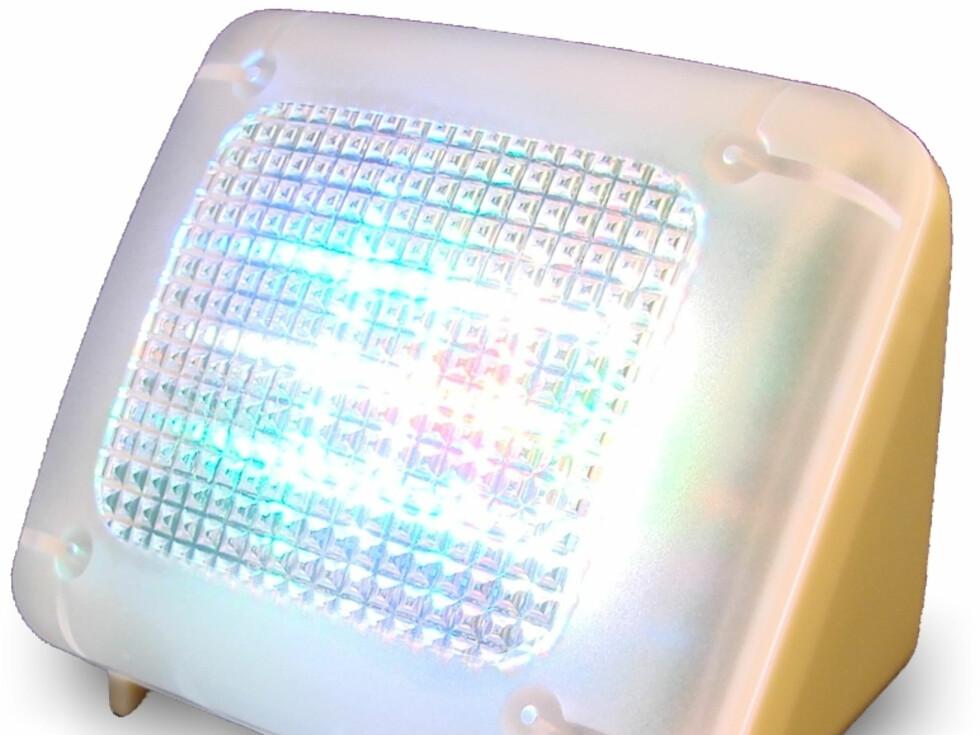 Nei, dette er ikke en TV. Men den skal lyse opp stuen din som en. Foto: Produktbilder