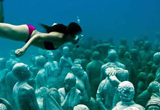 Undervannseventyr i Mexico