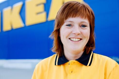 Varehussjef Solrun Hitland ser frem til åpningen torsdag. Foto: Ikea