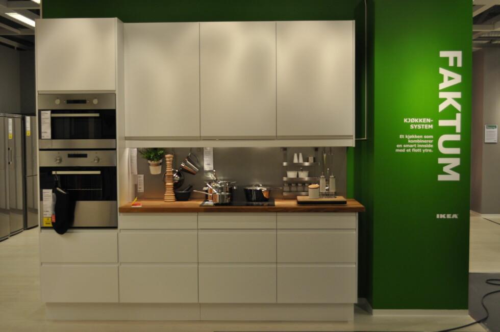 Faktum-kjøkken Foto: Ikea
