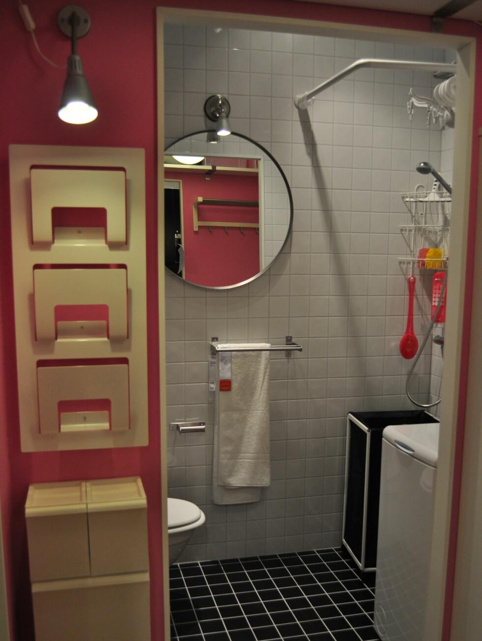 Ikea har innredet flere leiligheter der de viser frem smarte løsninger både for deg som bor på få kvadratmeter, og deg som aldri får nok plass. Foto: Ikea