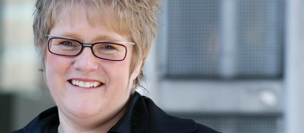 FØDSELSNUMMER: Venstre-leder Trine Skei Grande forteller at hun ble bedt om å oppgi fødselsnummer da hun skulle kjøpe en brødrister. Foto: CAROLINE ROKA/VENSTRE