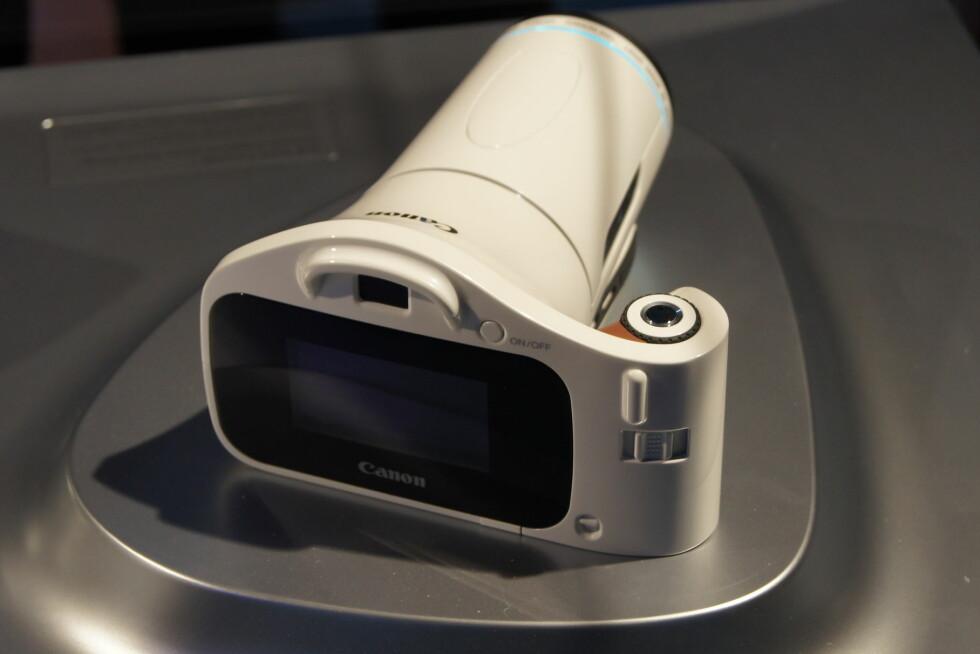 Dette Canon-kameraet er noen år inn i fremtiden, men kan blant annet by på fokusering etter at bildet er tatt. Foto: Pål Joakim Olsen