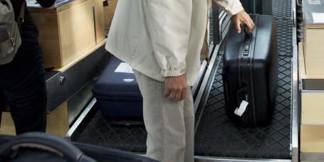 Pass på bagasjevekten