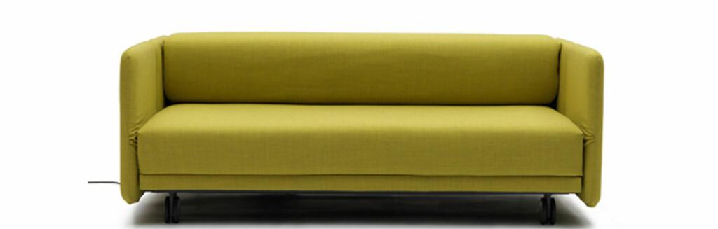 WOW Sofa Bed heter denne sofasengen. Den er designet av den italienske møbelprodusenten Campeggi, og skal gjøre det lettere for deg å få gjort om sofaen til en seng. Foto: Produsenten/Campeggi