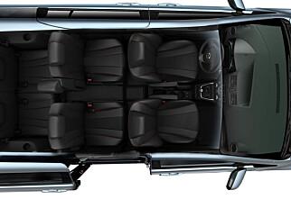 Mazda 5 kledd til fest