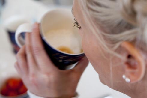 Nordmenn er kresne kaffedrikkere og stiller større krav til både smakk og konsistens enn før.  Foto: Per Ervland