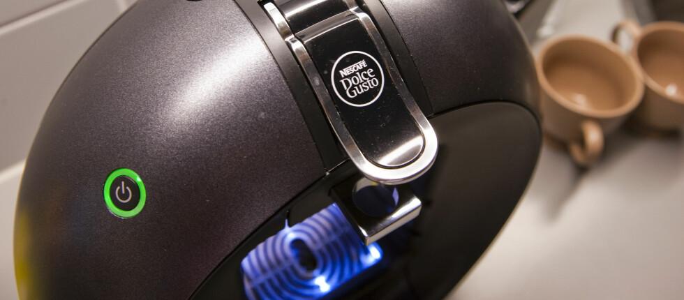 ÅRETS KAFFEMASKIN: Nescafés stilige nyhet på kaffefronten fikk terningkast fire i DinSide. Foto: Per Ervland
