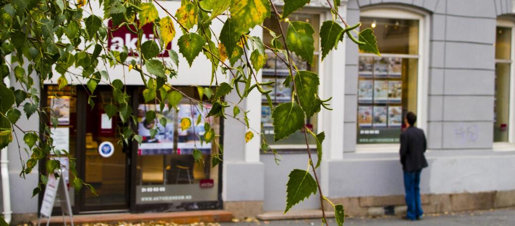 <b>OPPTUR:</b> Det har vært god fart på boligmarkedet i september.  Foto: Per Ervland