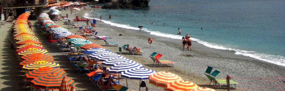 Italia frykter at Cinque Terre vil se ut som en søppelfylling på grunn av alle de tomme drikkeflaskene som turister strør om seg. Det planlegger de å gjøre noe med. Foto: SXC