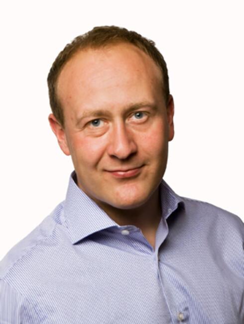Øyvind Vederhus, kommunikasjonssjef i NetCom Foto: NetCom
