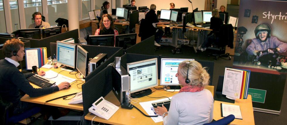 Her sitter de personene som ivaretar pengene dine på den aller sikreste måten, ifølge juryen bak Fidusprisen 2010. Foto: Skandiabanken