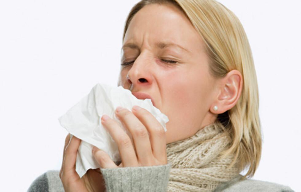 Høsten bringer med seg hyppige forkjølelser og influensa. Mild skepsis mot folk som snufser, og god håndhygiene kan hjelpe deg gjennom høsten og vinteren uten altfor mange plager.
