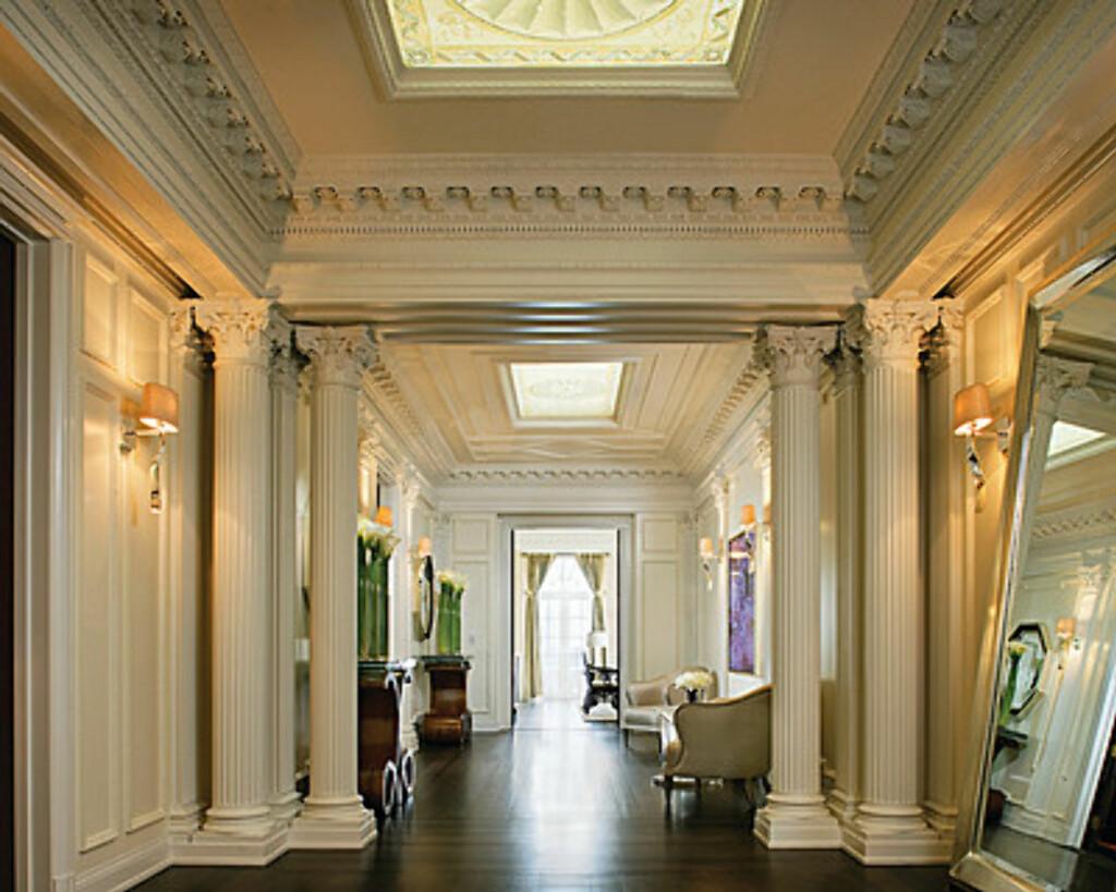Her er gangen på presidentsuiten. Akkurat slik som hjemme? Foto: Four Seasons Hotel